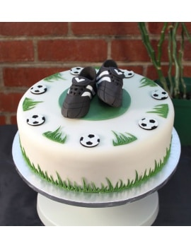 Cake Topper Football chaussures 3D