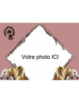 Photo comestible Cheval - A4