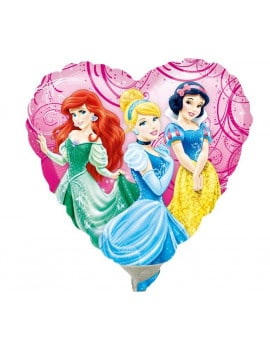 ballon-princesses-disney-coeur
