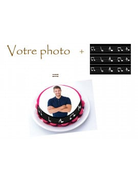 Kit deco de gateau music