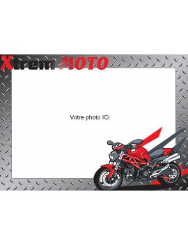Photo comestible moto Xtrème A4