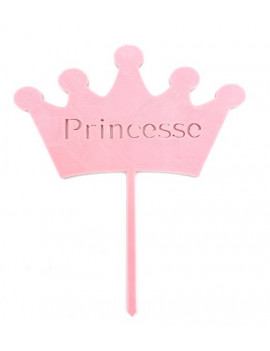 Cake Topper Couronne de princesse