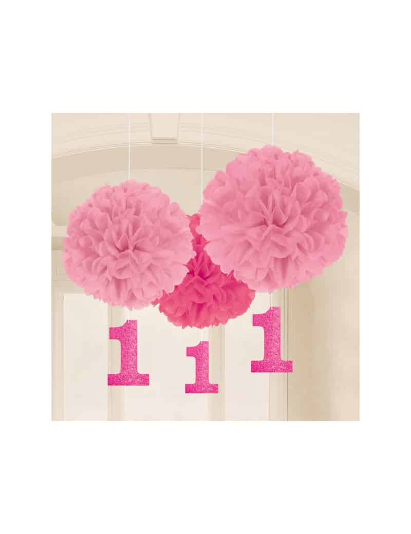 3-suspensions-pompons-rose-1-an