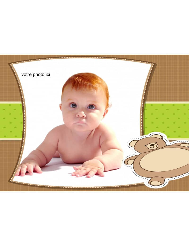 Photo-comestible-bebe-garçon-A4