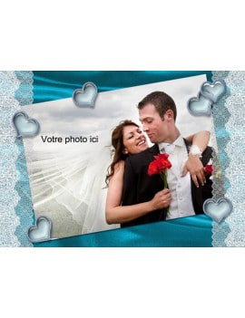 Photo comestible A3 romantique