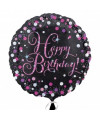 Ballon-Happy-birthday-rose