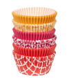150-caissettes-a-cupcakes-ton-orange-rouge