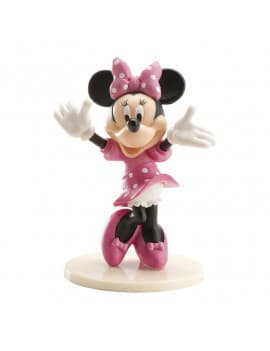 Figurine Minnie 3d En Pvc
