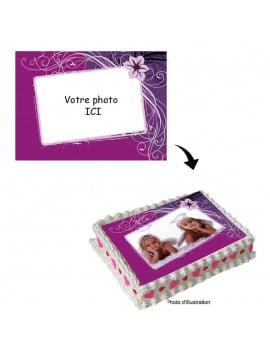 Votre photo comestible 20x29 cm