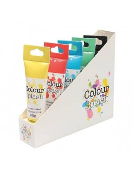 Pack de 5 colorants alimentaires en gel