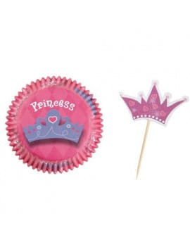 Kit deco cupcakes princesses