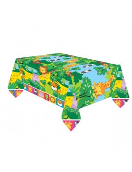 Nappe plastique jungle 180 x 120 cm