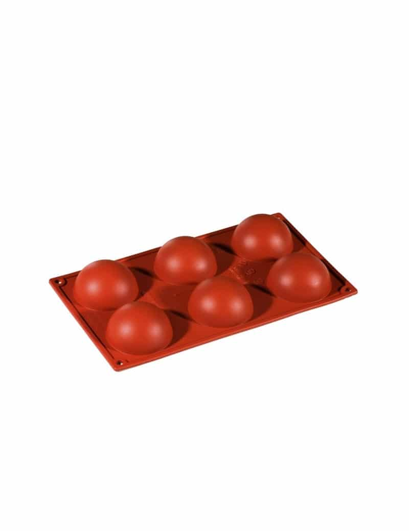 Moule-silicone-6-spheres-Pavoni