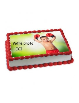 Votre photo comestible A4