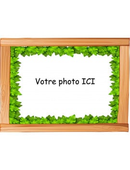 Photo comestible 20x29 cm jungle