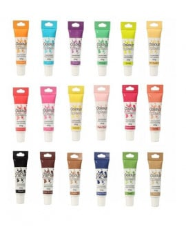Colorant alimentaire en tube Colour splash - 20 Coloris au choix