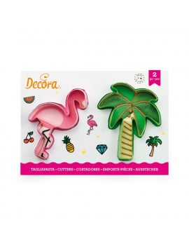 2-emporte-pieces-flamant-rose-et-palmier