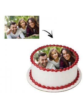 Photo comestible ronde 20 cm