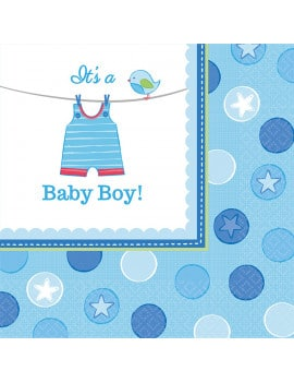 16-serviettes-baby-shower-bleus