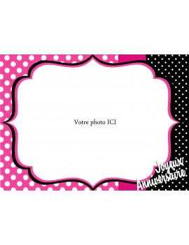 Photo comestible Girly - A4