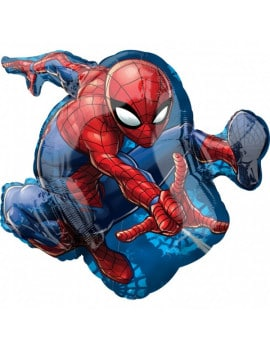 ballon-spiderman-silhouette