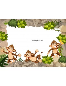 photo-comestible-singe-de-la-jungle-a4