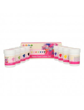 Pack de 8 colorants alimentaires en gel Funcakes