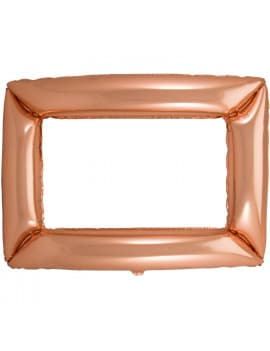 ballon-cadre-rectangulaire-or-rose-pour-photobooth