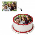 Photo comestible ronde - 20 cm