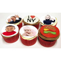 Photo comestible Ronde - 5 cm